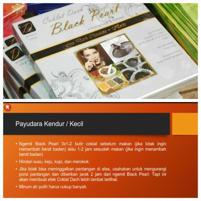 Jual Coklat Black Pearl Untuk Memperbesar Payudara dan Masalah Hormonal Wanita